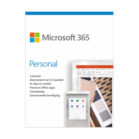 Office 365 Personal 1PC/MAC 1jaar