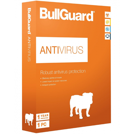 BullGuard AntiVirus, Windows 1PC/1jaar
