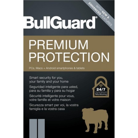 5PC-1jaar Bullguard InternetSecurity, multi-device,