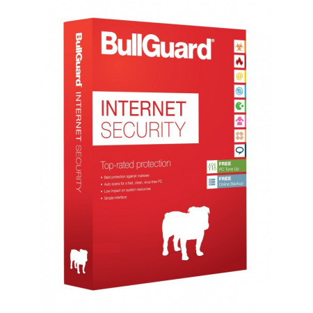 1PC-1jaar Bullguard InternetSecurity  OEM