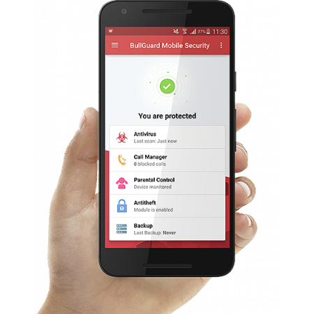 5pc BullGuard Mobile Security, 1JAAR, Android 4.0 en recenter,